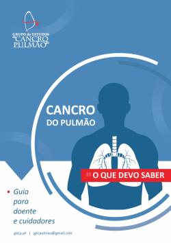 CANCRO DO PULMÃO <br> O QUE DEVO SABER